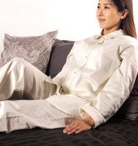 エジプト綿サテンパジャマ