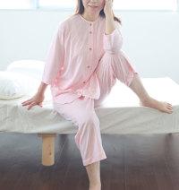 七分袖レディースパジャマ