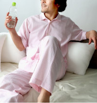 衿つきパジャマメンズ