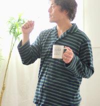 天竺ニット開襟パジャマ