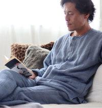 ウール混メンズパジャマ